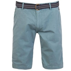 Protest Fan Shorts Washed Blue