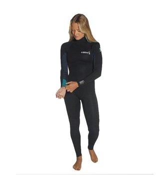 C-Skins Womens Surflite 5/4/3mm GBS Wetsuit