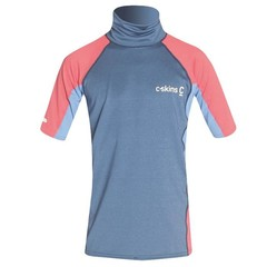C-Skins Youth Girls Skins S/S Rash Vest