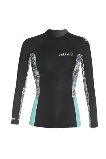 C-Skins Womens Skins L/S Rash Vest