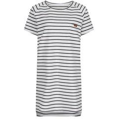 Passenger Stroll Dress Off White Stripe