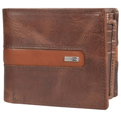 Billabong D Bah Leather Wallet Chocolate