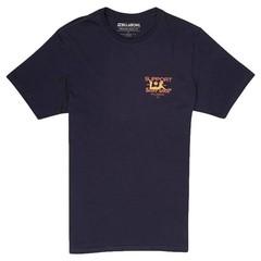 Billabong Support SS T-Shirt Navy