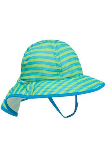 Sunday Afternoon Hats Infant Sun Sprout Hat Blue/Green