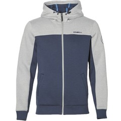 O'Neill Clothing Block Zip Hoody Silver Melee