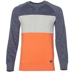 O'Neill Clothing Cross Step Sweatshirt Blue AOP