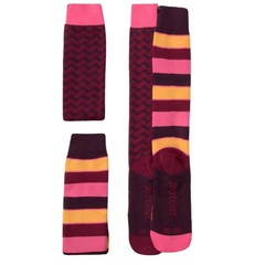 Protest Snowy Snow Socks 2 Pack Beet Red
