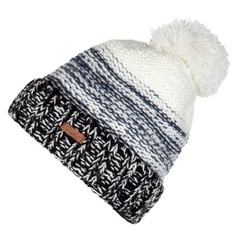 Protest Woody Bobble Beanie Hat True Black