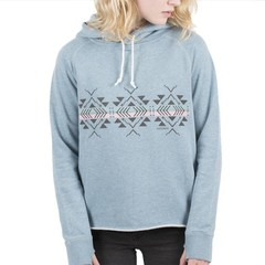 Passenger Little Leaf Hoody Real Teal Marl