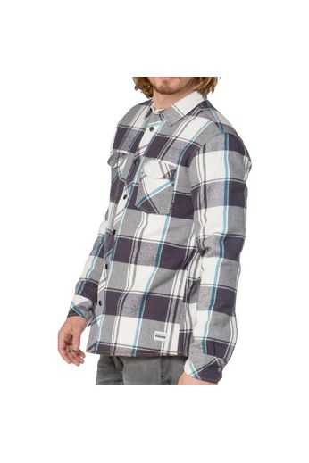 Protest Teeth Shirt Jacket Asphalt