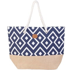 Protest Chalk Beach Bag Ground Blue