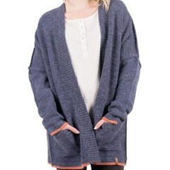 Passenger Vine Maple Knit Cardigan Blue Nights