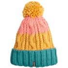 Billabong Headsss Bobble Beanie Hat Honey Gold