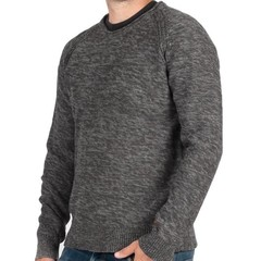 Passenger Birched Knit Jumper Charcoal Grey