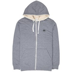 Billabong All Day Sherpa Zip Hoody Navy