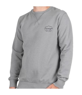 Passenger Origin Crew Jumper Grey Marl