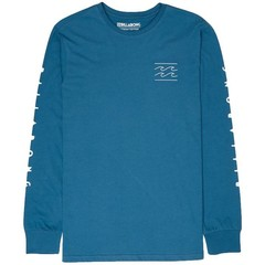 Billabong Unity L/S T-Shirt Denim Blue