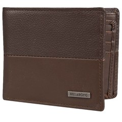 Billabong Fifty50 Leather Wallet Chocolate