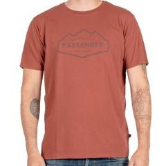 Passenger Fjord T-Shirt Burgundy