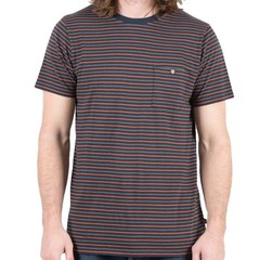 Passenger Brook T-Shirt Navy/Rust/Grey