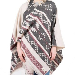 Passenger Snuggler Wrap Grey/Pink One Size