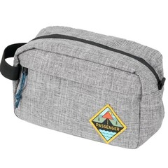Passenger Stream Wash Bag Grey Marl