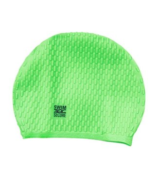 Swim Secure Bubble Swim Hat Green