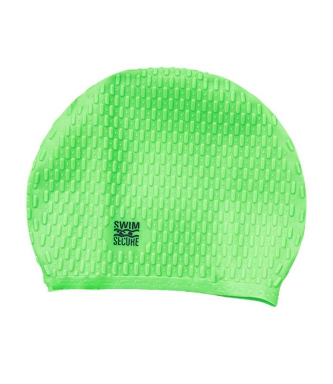 Swim Secure Bubble Swim Hat Green
