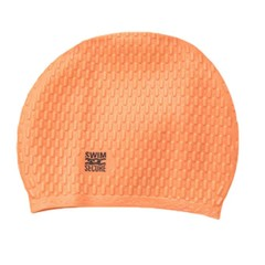 Swim Secure Bubble Swim Hat Orange