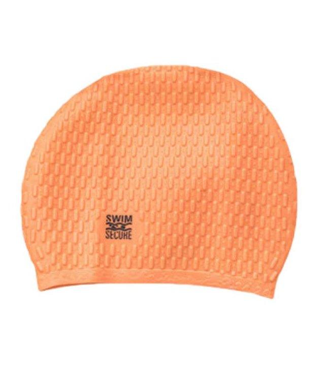Swim Secure Bubble Swim Hat Orange