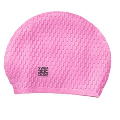 Swim Secure Bubble Swim Hat Pink