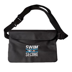 Swim Secure Waterproof Bum Bag Black
