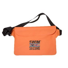 Swim Secure Waterproof Bum Bag Orange