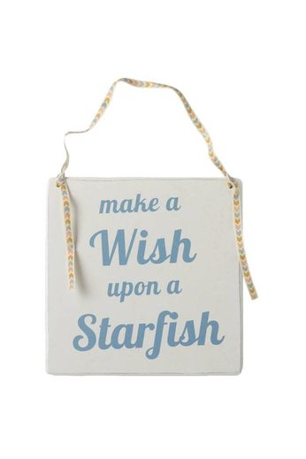 Heaven Sends Make a Wish Hanging Wooden Sign