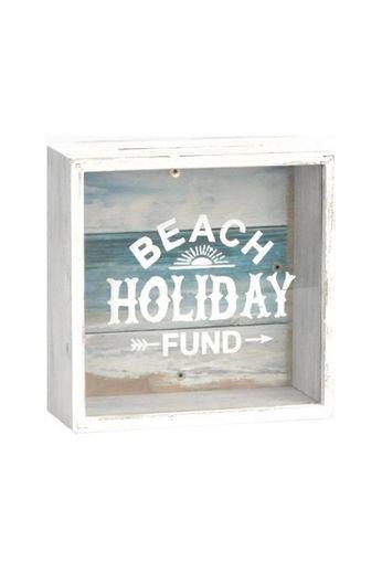 Heaven Sends Beach Holiday Fund Money Box
