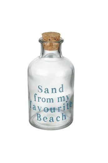 Heaven Sends Sand from my Favourite Beach Glass Bottle