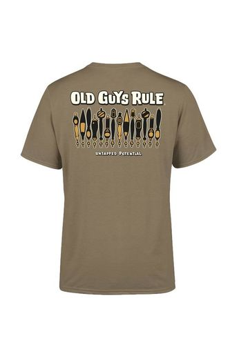 Old Guys Rule Untapped Potential T-Shirt