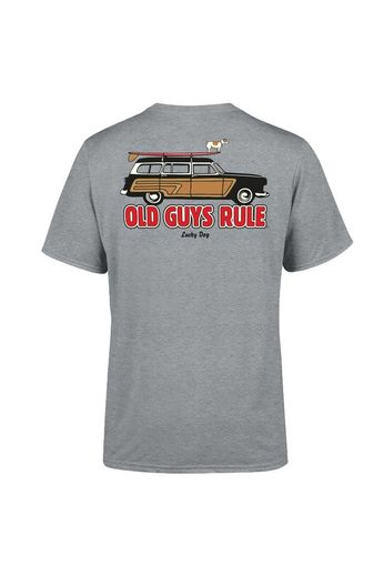 Old Guys Rule Lucky Dog T-Shirt