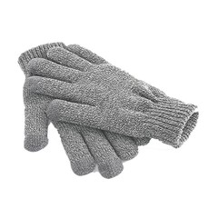 Beechfield Touch Screen Gloves Heather Grey