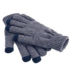 Beechfield Touch Screen Gloves Heather Navy