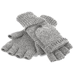 Beechfield Beechfield Fliptop Gloves - Heather Grey