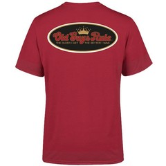 Old Guys Rule Older I Get T-Shirt Cardinal Red