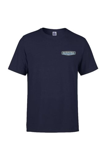 Old Guys Rule Rear View T-Shirt Navy