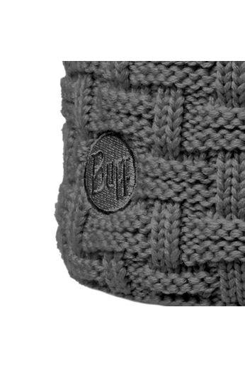 Buff Airon Grey Melange Knitted Buff