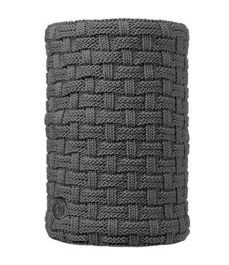 Buff Airon Grey Melange Knitted Buff