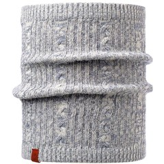 Buff Braidy Grey Neckwarmer Buff