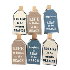 Heaven Sends Wooden Beach Peg Set