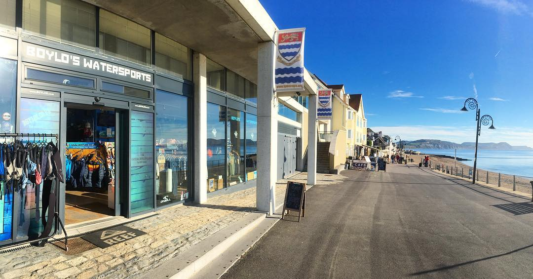 Boylos Watersports Shop Front