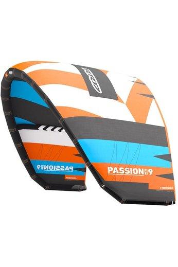 RRD Passion MK10 Lightwind Cyan/Orange Kite