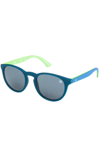 Hype Sunglasses Hyperound Sunglasses Navy Lime 106